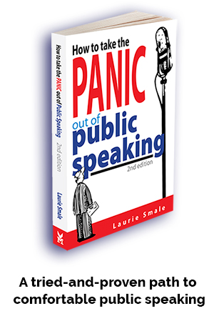 How to take panic out of public speaking